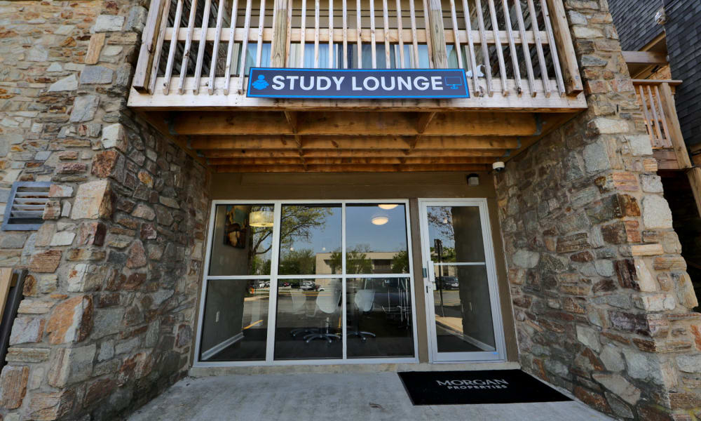 Study Lounge Entrance at The Colony at Towson Apartments & Townhomes