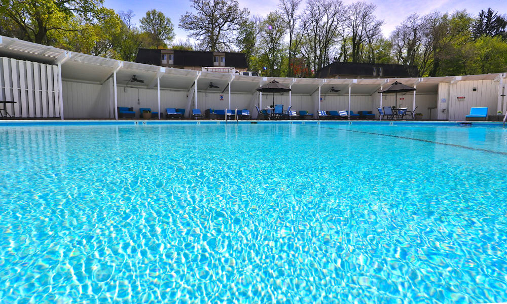 Sparkling Swimming Pool at The Colony at Towson Apartments & Townhomes