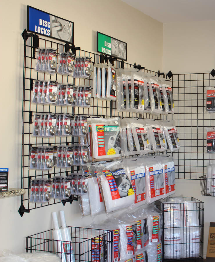 Packing supplies available at StorQuest Self Storage in Spring, Texas