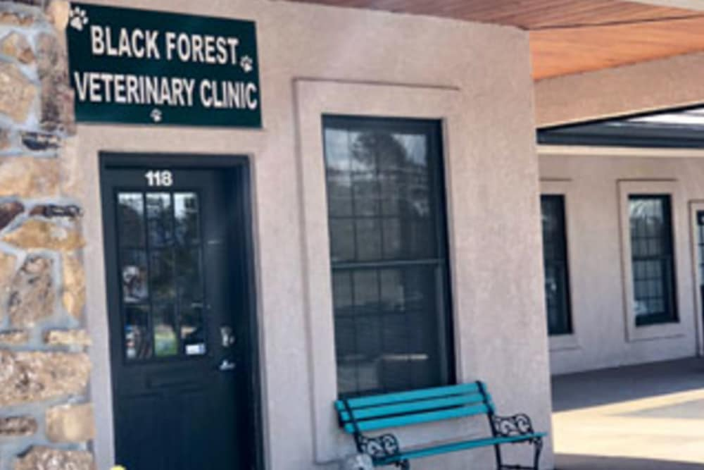 Exterior at Black Forest Veterinary Clinic in Colorado Springs, Colorado