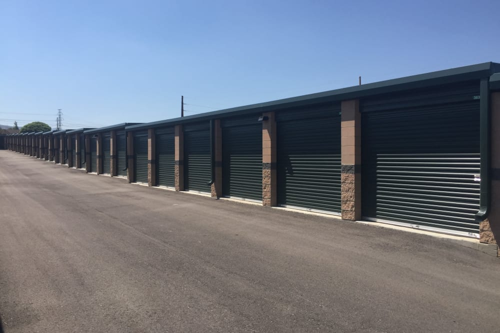 Exterior units at Towne Storage in Bluffdale, UT