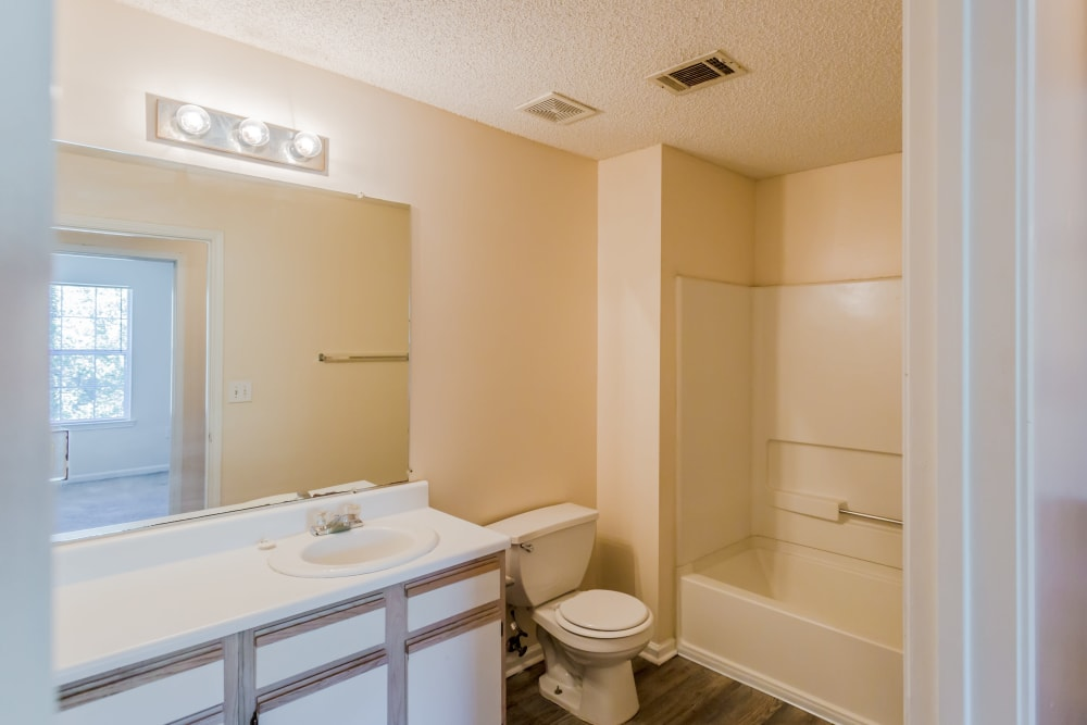 Bathroom with a shower at The Retreat at Sherwood in Sherwood, Arkansas