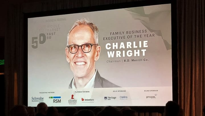 Charlie Wright honored