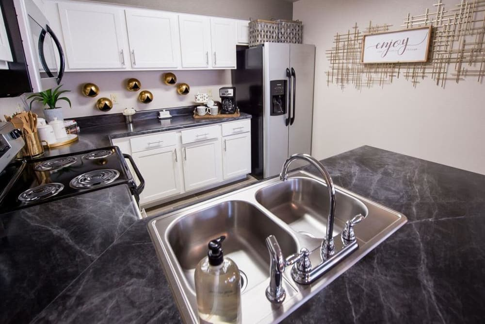 Beautiful kitchen at Watercress Apartments in Maize, Kansas