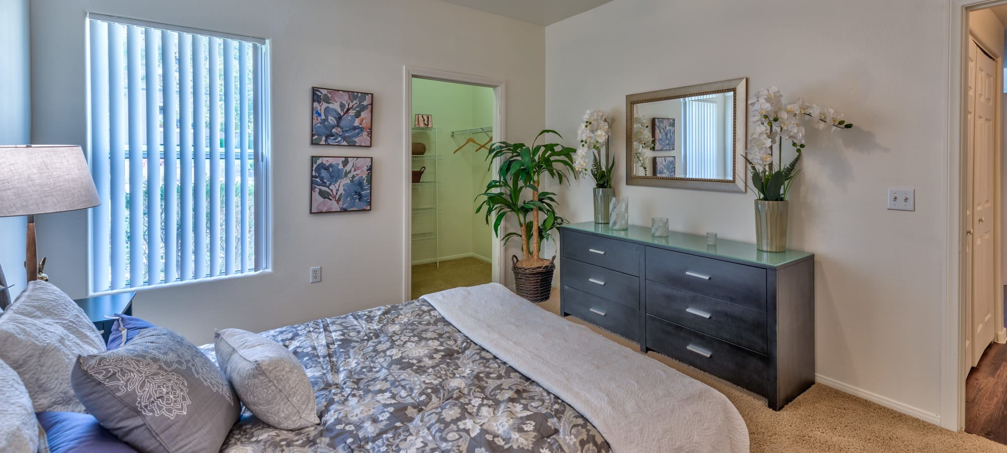 Second bedroom at Shadow Hills at Lone Mountain in Las Vegas, Nevada
