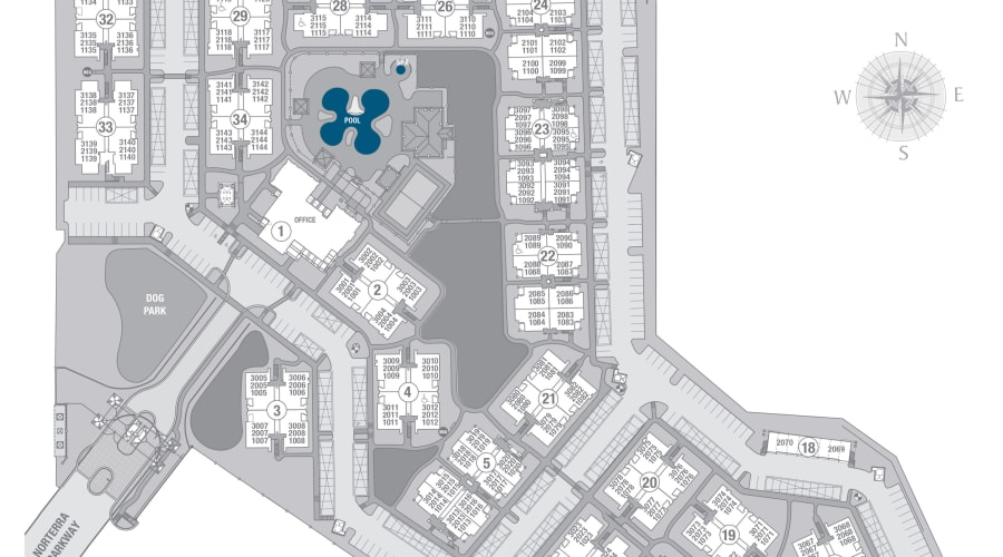 San Norterra site plan