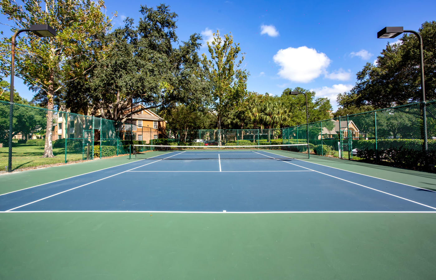 Onsite tennis courts at IMT Newport Colony in Casselberry, Florida