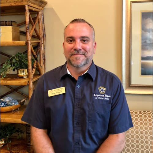 Mark Monroe, Facility Director at Keystone Place at Terra Bella in Land O' Lakes, Florida