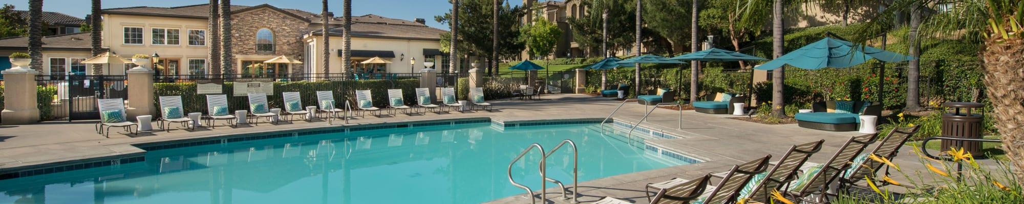 Community perks at Esplanade Apartment Homes in Riverside, California