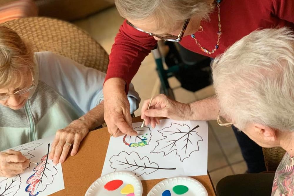Sun Oak Residents, Activities and Crafts