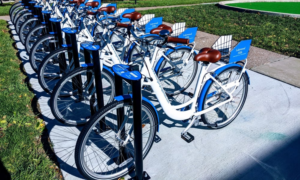 Bike Share at Lakewood Hills Apartments & Townhomes in Harrisburg, PA