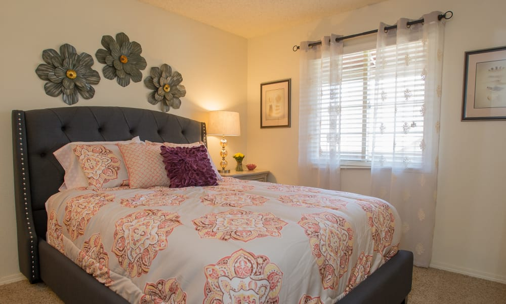 Bright Bedroom at Chardonnay in Tulsa, Oklahoma