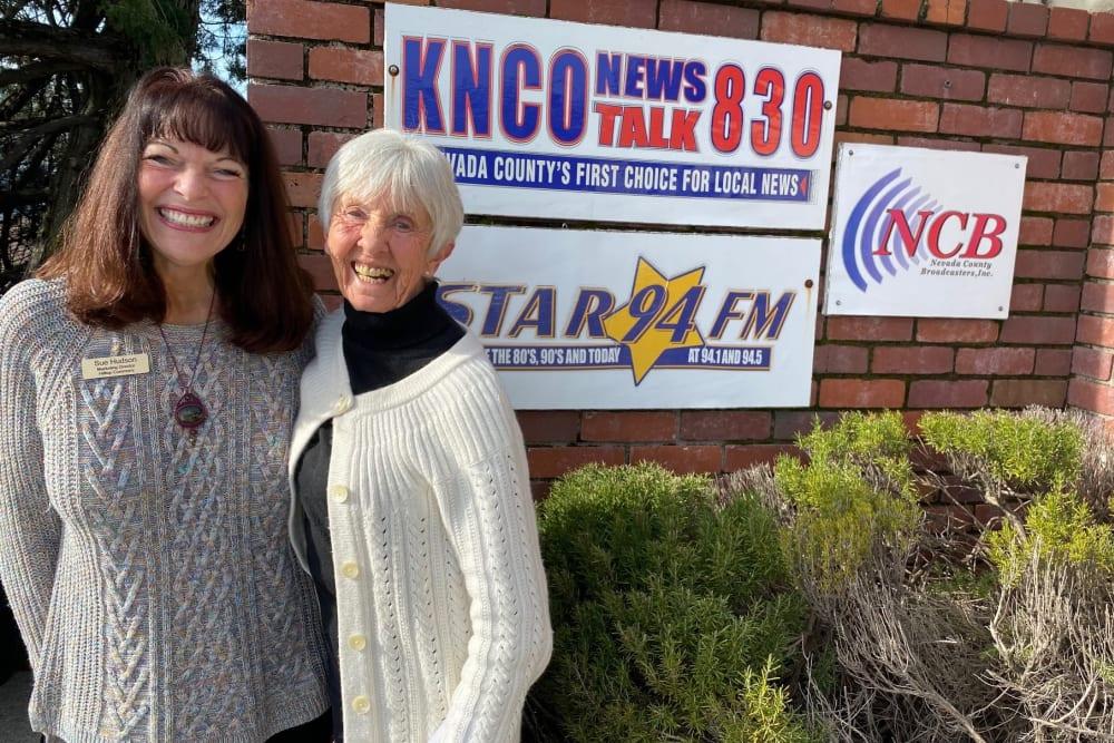 Radio Ad Hilltop Commons Senior Living in Grass Valley, California