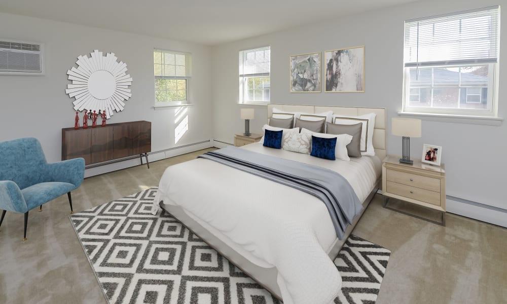 Bedroom at Woodacres Apartment Homes in Claymont, DE