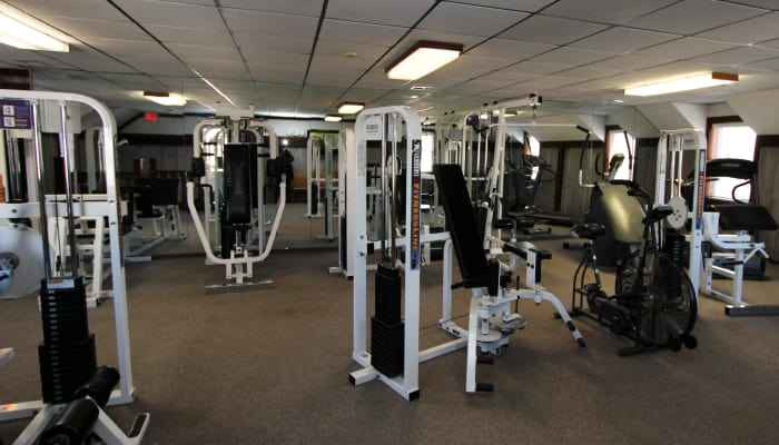 luxury fitness center at Village Green