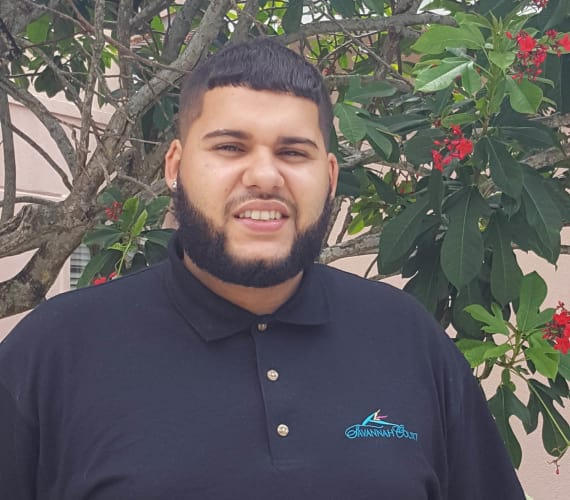 Jose Nuñez, Maintenance Assistant at Savannah Court of the Palm Beaches in West Palm Beach, FL