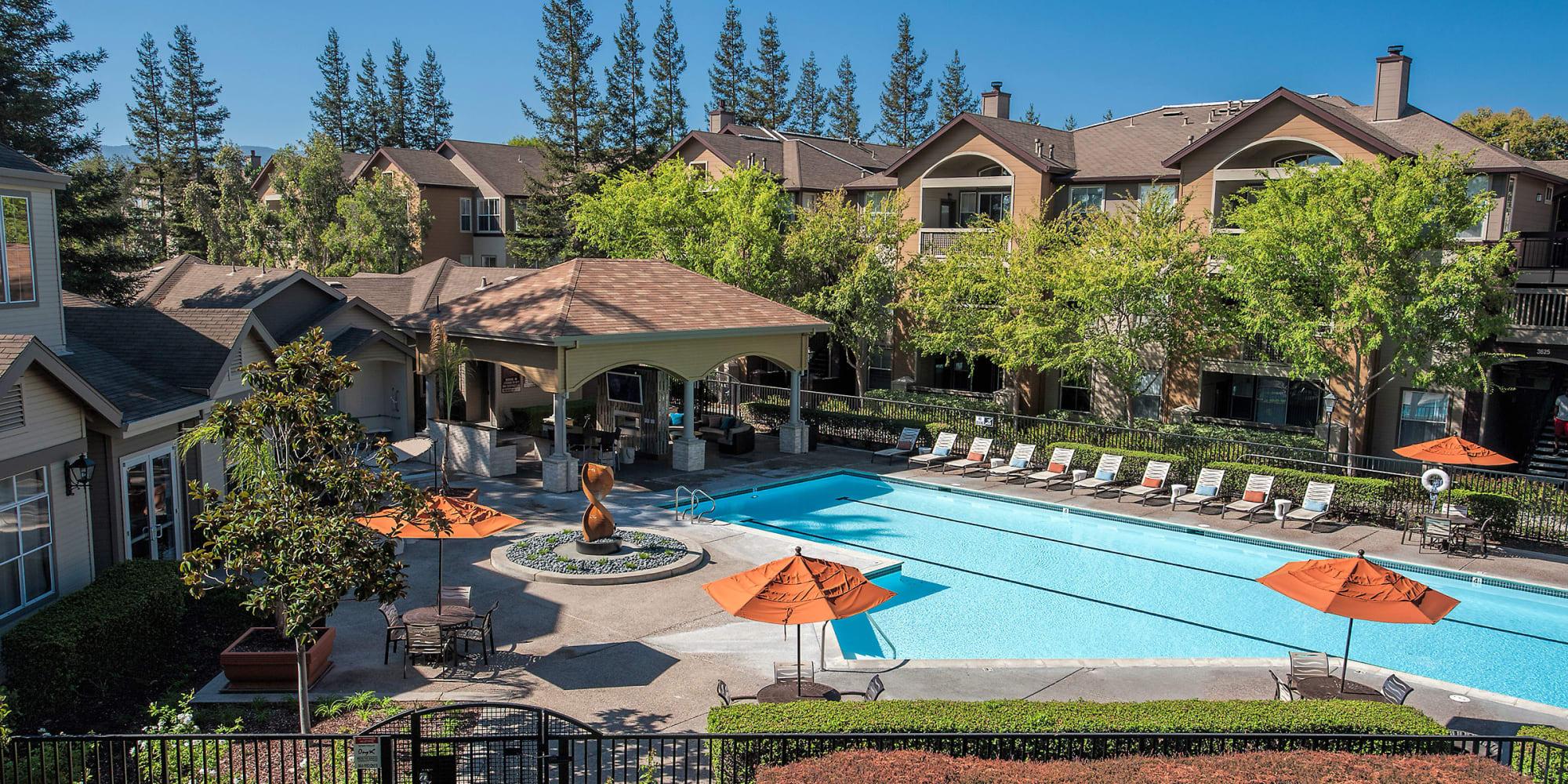 San Jose Ca Apartments Rosewalk