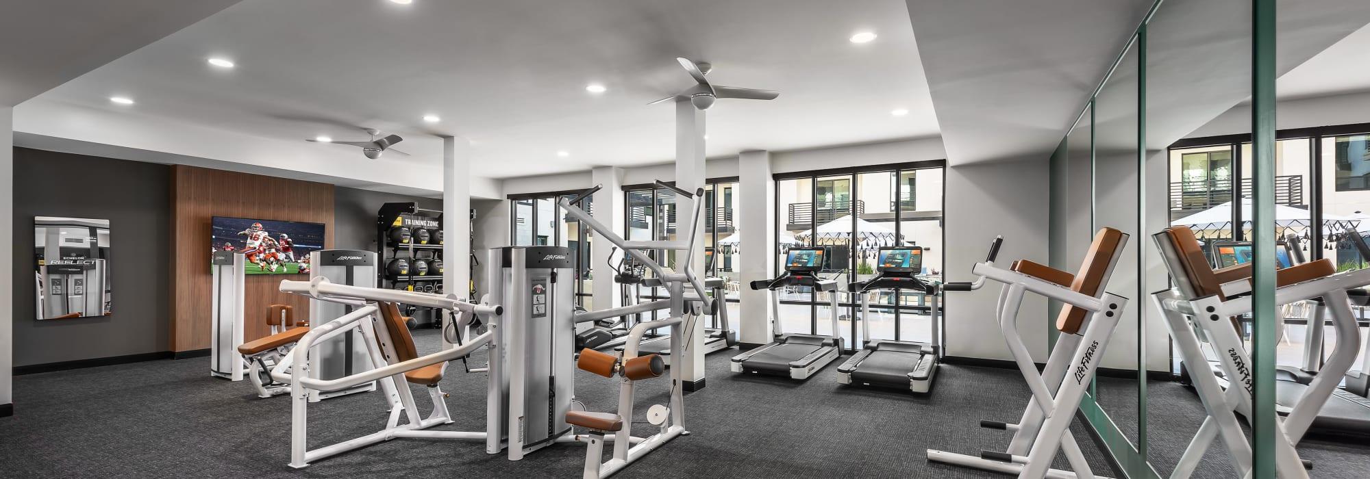 The gym at Scottsdale, Arizona near Gramercy Scottsdale