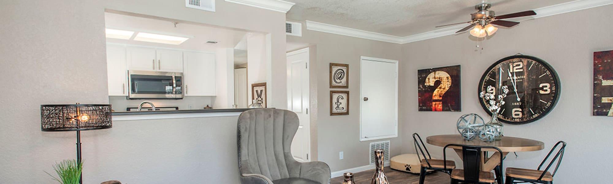 Floor plans at Sandpiper Village Apartment Homes in Vacaville, California