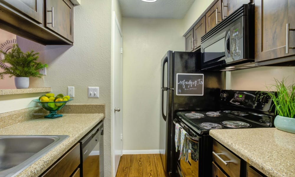 Bradford Pointe offers a renovated kitchen in Austin, Texas