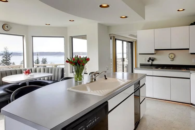 Learn more about our use of Silestone hygienic countertops at Village at Belmar