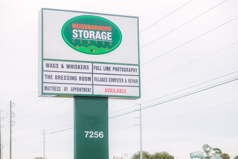 Welcome to Neighborhood Storage in Ocala, FL