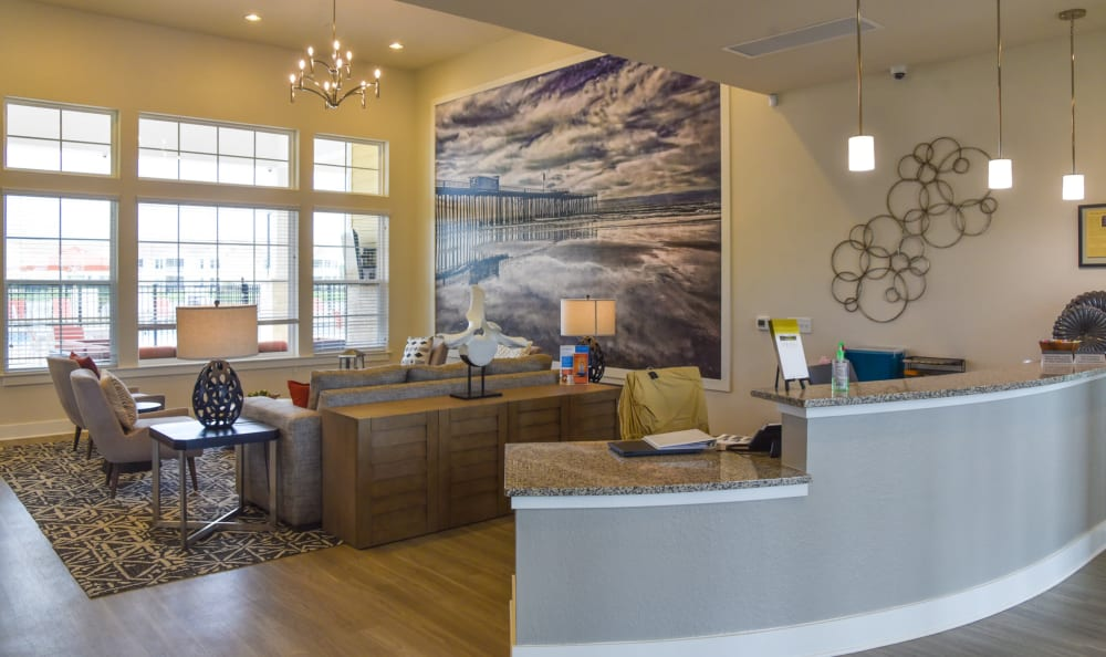 Clubhouse interior at Springs at Port Charlotte in Port Charlotte
