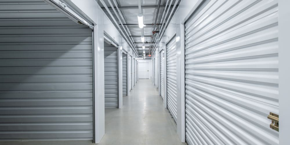 Indoor climate controlled units at StorQuest Self Storage in Tigard, Oregon