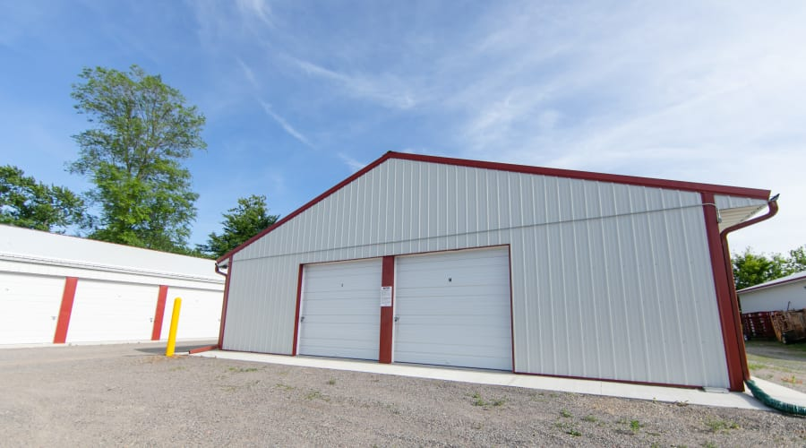 Exterior of outdoor units at KO Storage of Annandale - Myrtle in Annandale, Minnesota