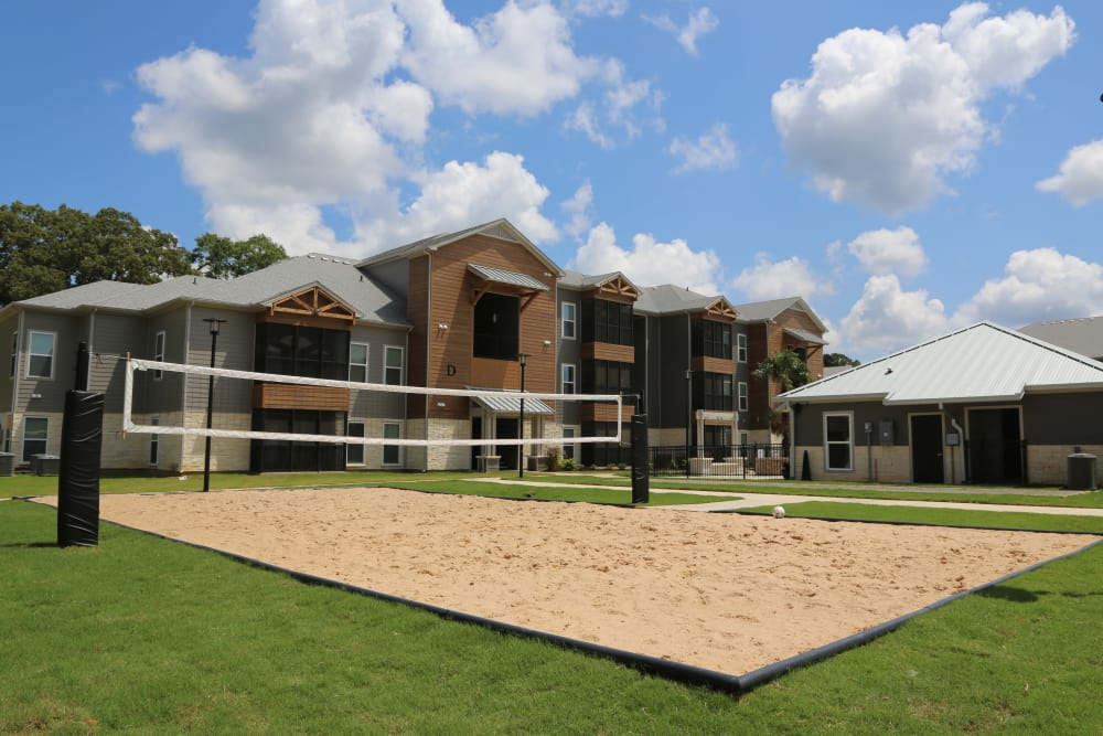 Tennis court at North Village Apartments in Ruston, Louisiana