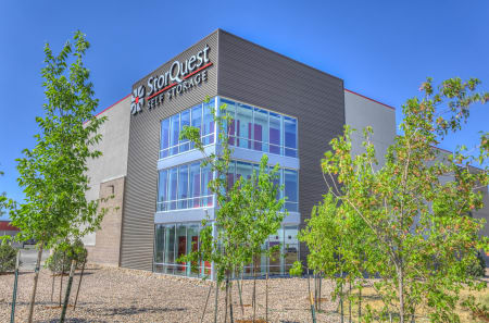 Exterior view at StorQuest Self Storage in Aurora, CO