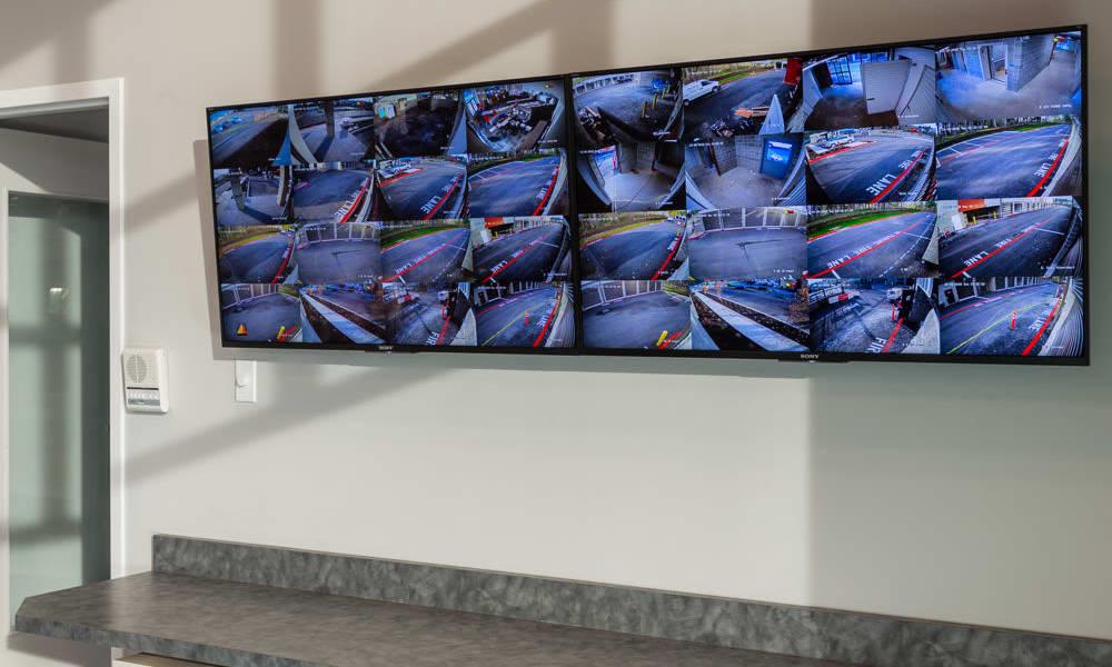 Camera surveillance at Raceway Heated Storage - Covington in Covington, Washington