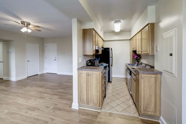 Large living areas at Montgomery Arms Apartments