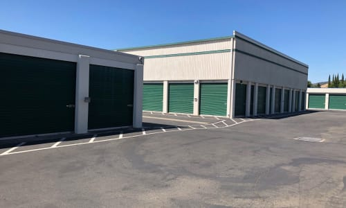 Multiple outdoor units at Storage Star Vacaville in Vacaville, California