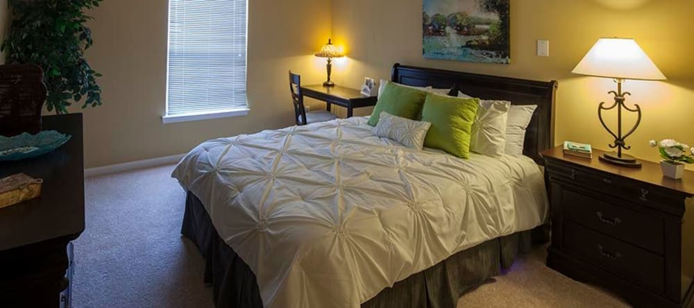 Our senior apartments in Novi, MI offer cozy bedrooms