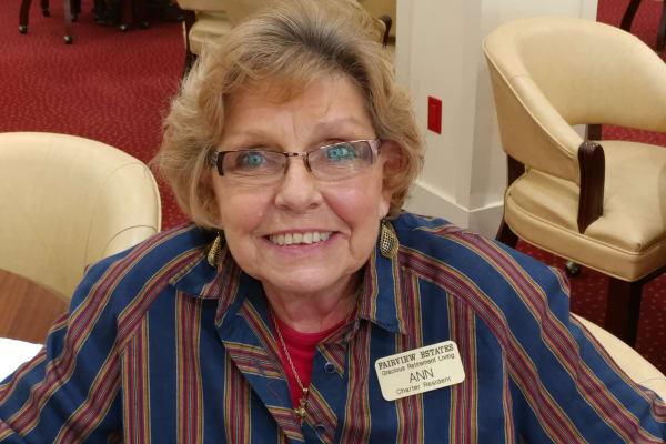 Ann Rutter at Fairview Estates Gracious Retirement Living in Hopkinton, Massachusetts