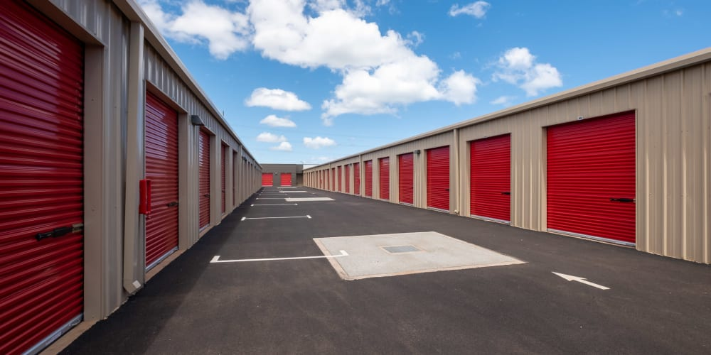 Outdoor units at StorQuest Express - Self Service Storage in Kapolei, Hawaii
