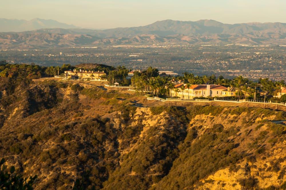 Aerial view of the community at Niguel Summit Condominium Rentals in Laguna Niguel, California