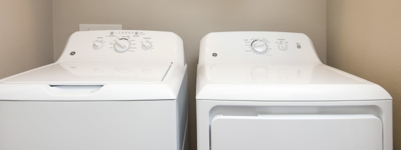 In-unit washer and dryer at Linden Audubon Park in Orlando, Florida