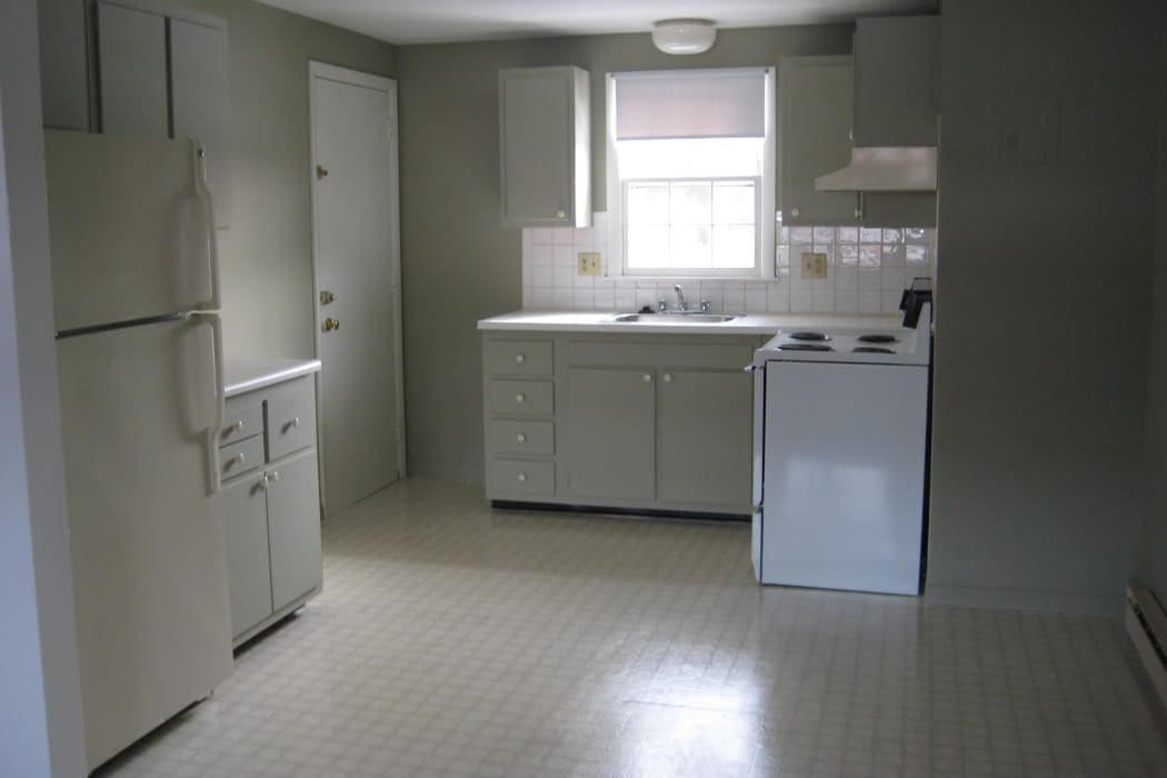 Fully Equipped Kitchen Room at Coachlight Village in Agawam