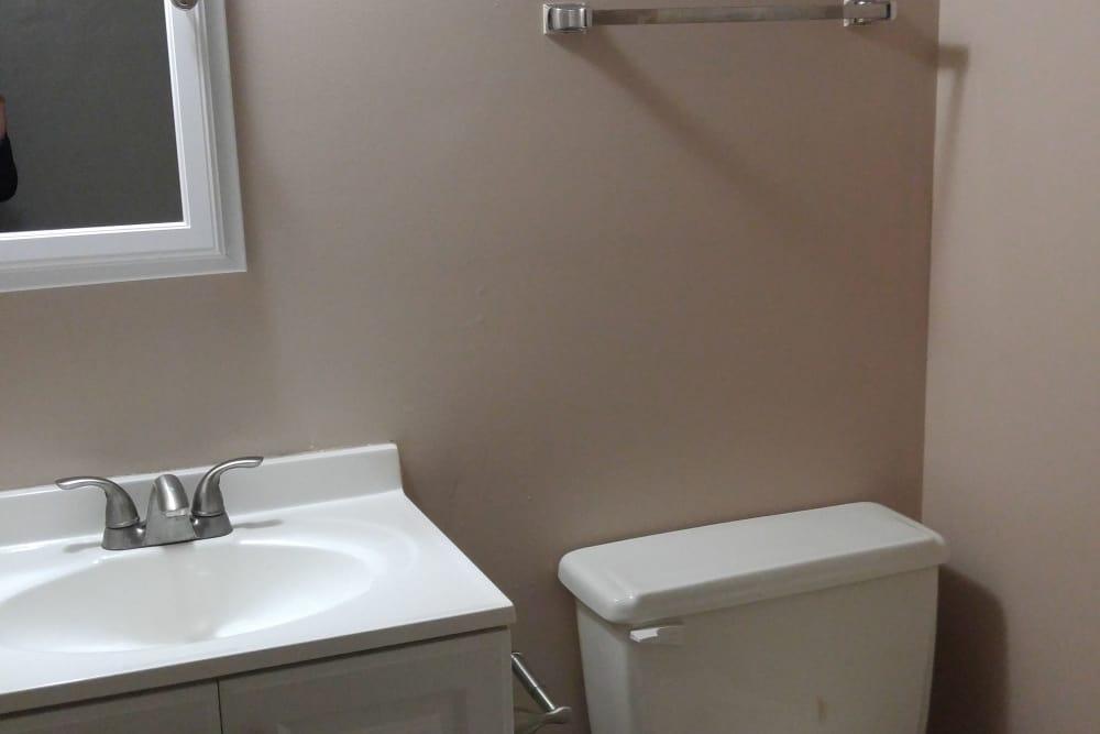 Bathroom at Triad Apartments