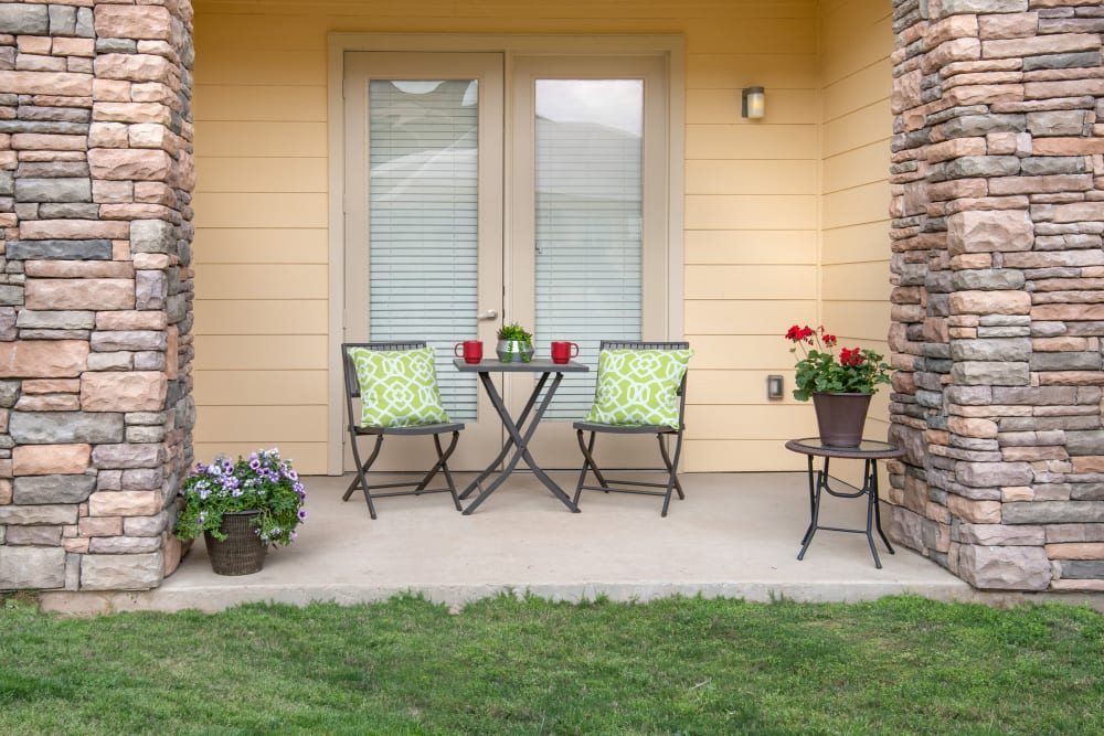 Apartments with a Private Patio in Richardson, Texas