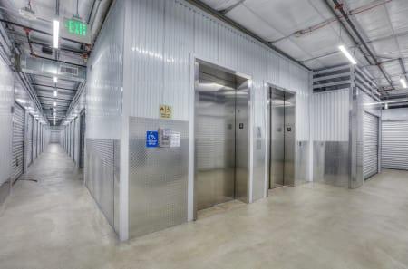Elevator at StorQuest Self Storage in Aurora, CO