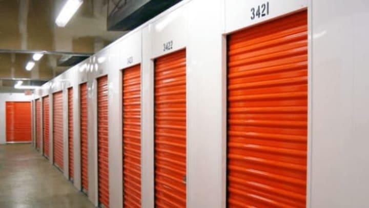 Interior storage units at Extra Attic Mini Storage in Richmond, Virginia