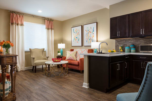Floor plan view of our available senior living units in Palm Beach Gardens