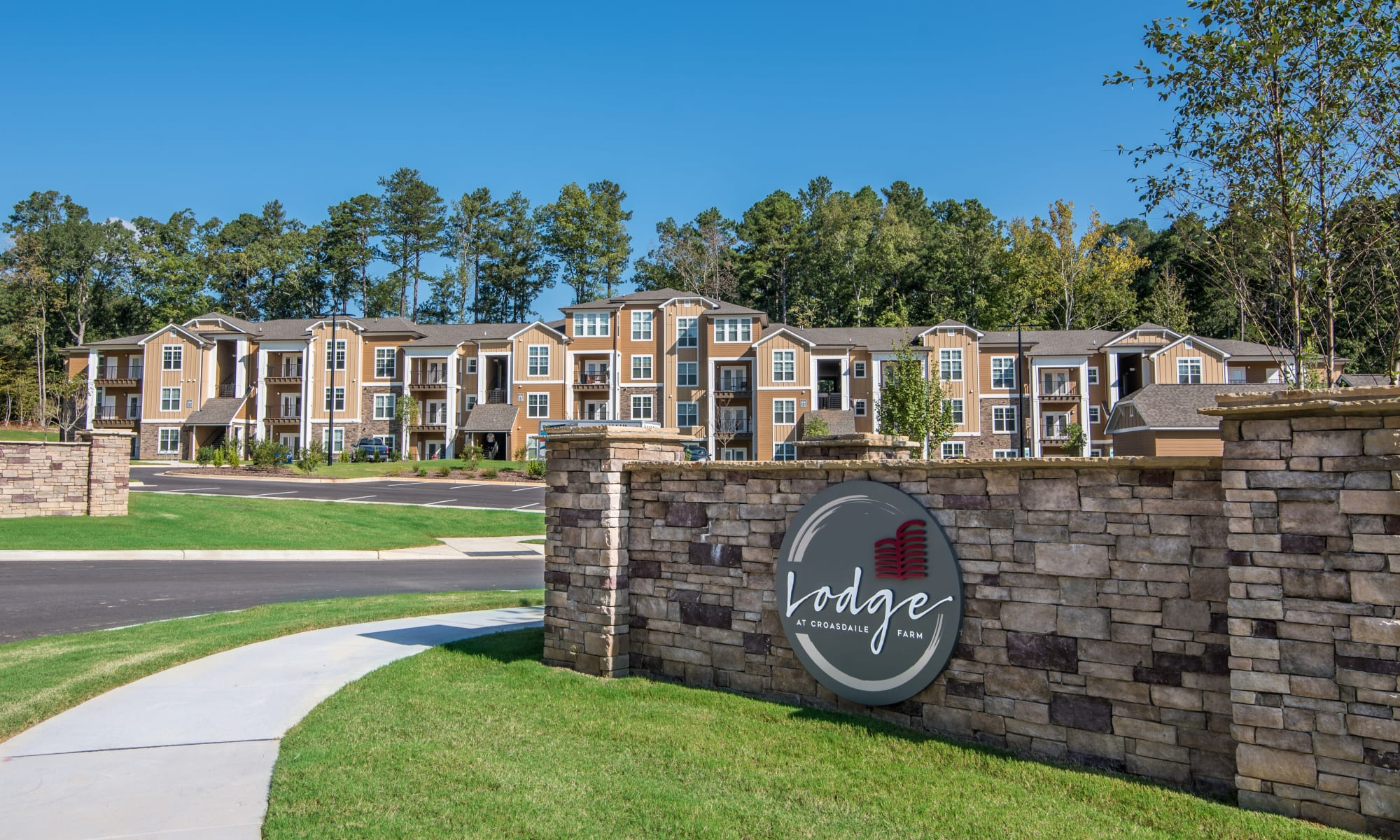 Apartments at Lodge at Croasdaile Farm in Durham, North Carolina