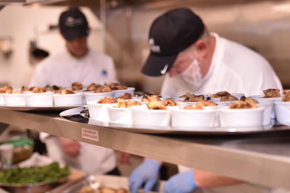 Chefs at Aspen Place Health Campus in Greensburg, Indiana