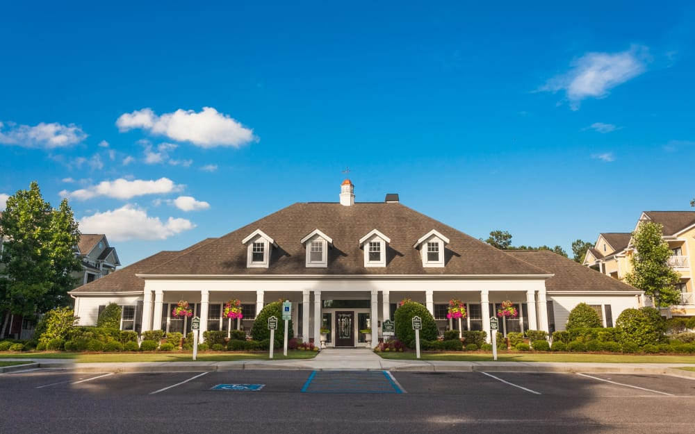 Leasing office at Bryant at Summerville in Summerville, South Carolina