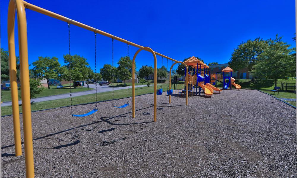 Playground at The Townhomes at Diamond Ridge in Baltimore, Maryland