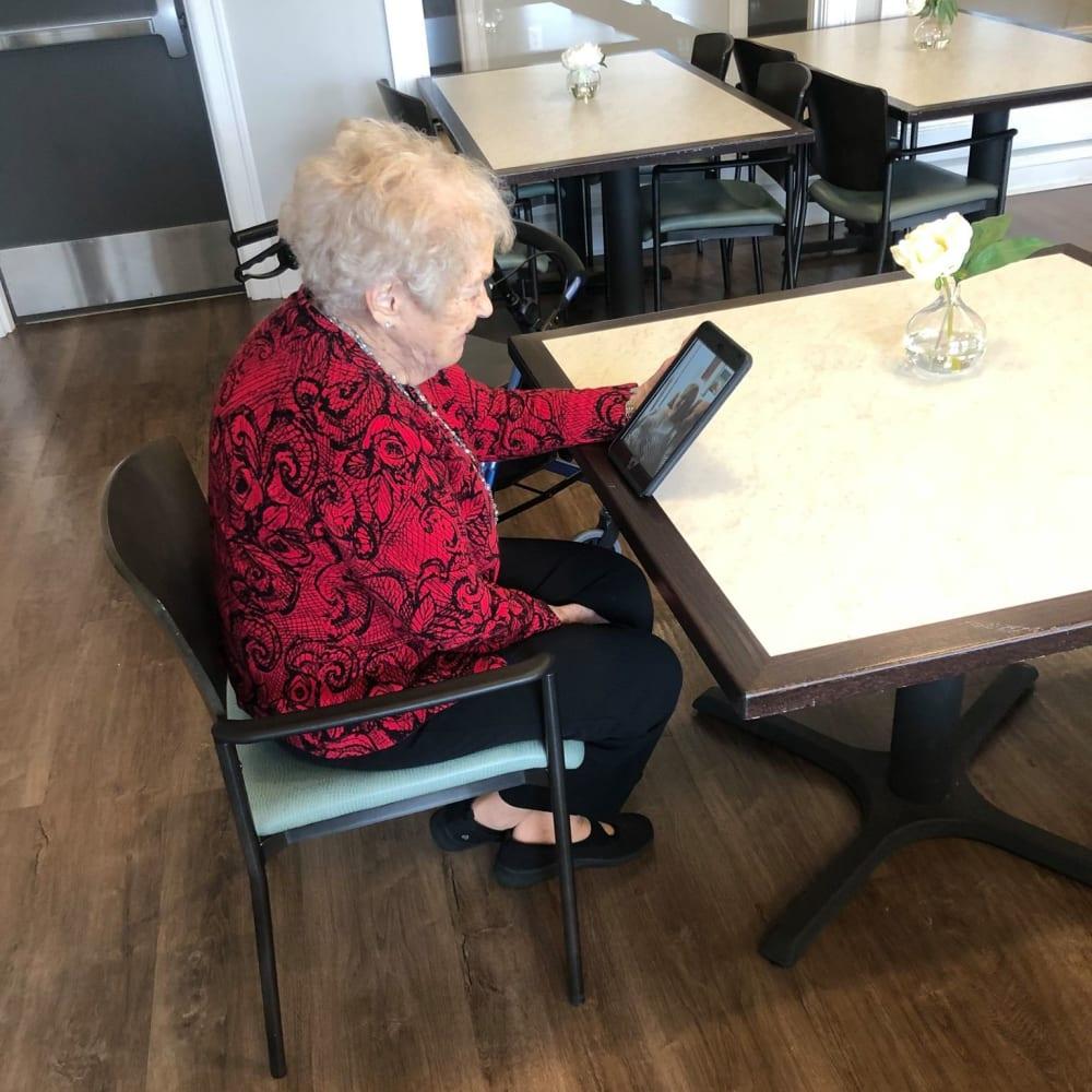 Unique dining options at Anthology Senior Living in Denver, Colorado